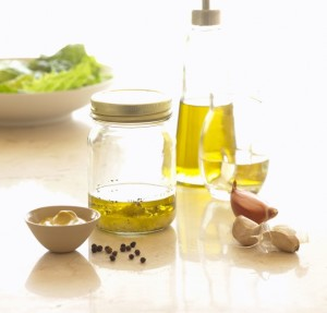 natural healthy home made salad dressing